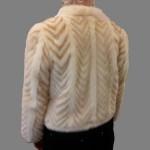 Handmade Mink Fur Jacket Back