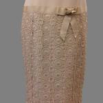 Handmade Gold Dress Detail